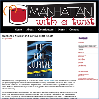 Manhattan With a Twist Review of The Blue Journal