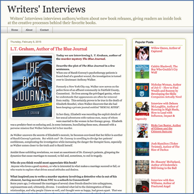 WritersInterviews' Interview with L.T. Graham